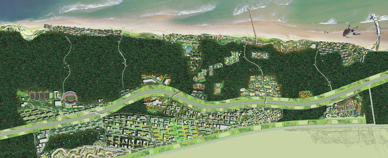 Golden Bay Masterplan Yantai (China)