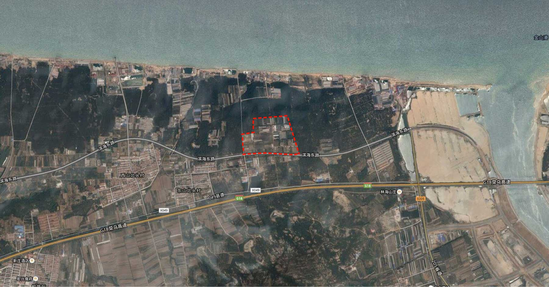 Plot E Masterplan en Yantai (China)