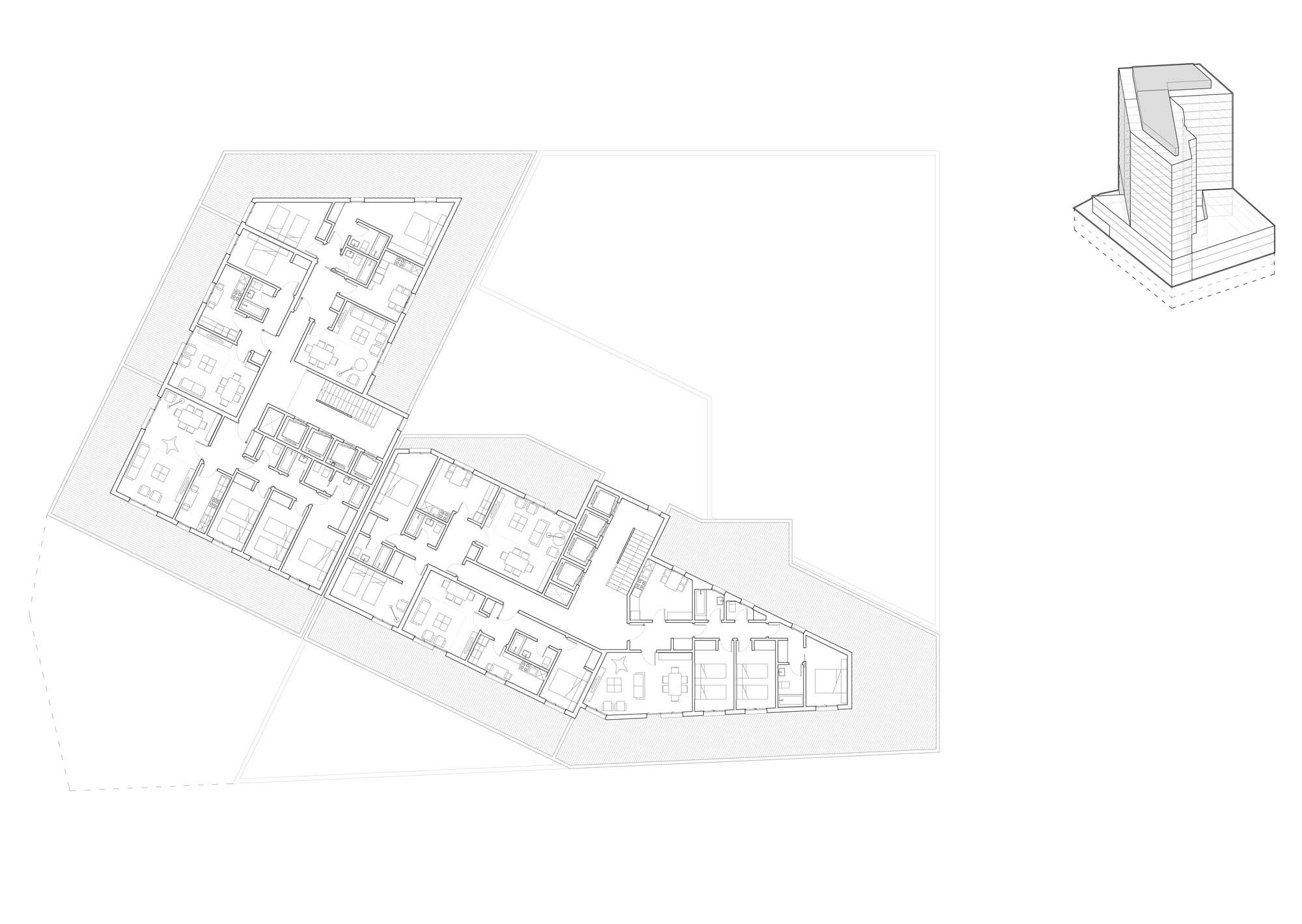 136 viviendas, oficinas y comercial en Orán