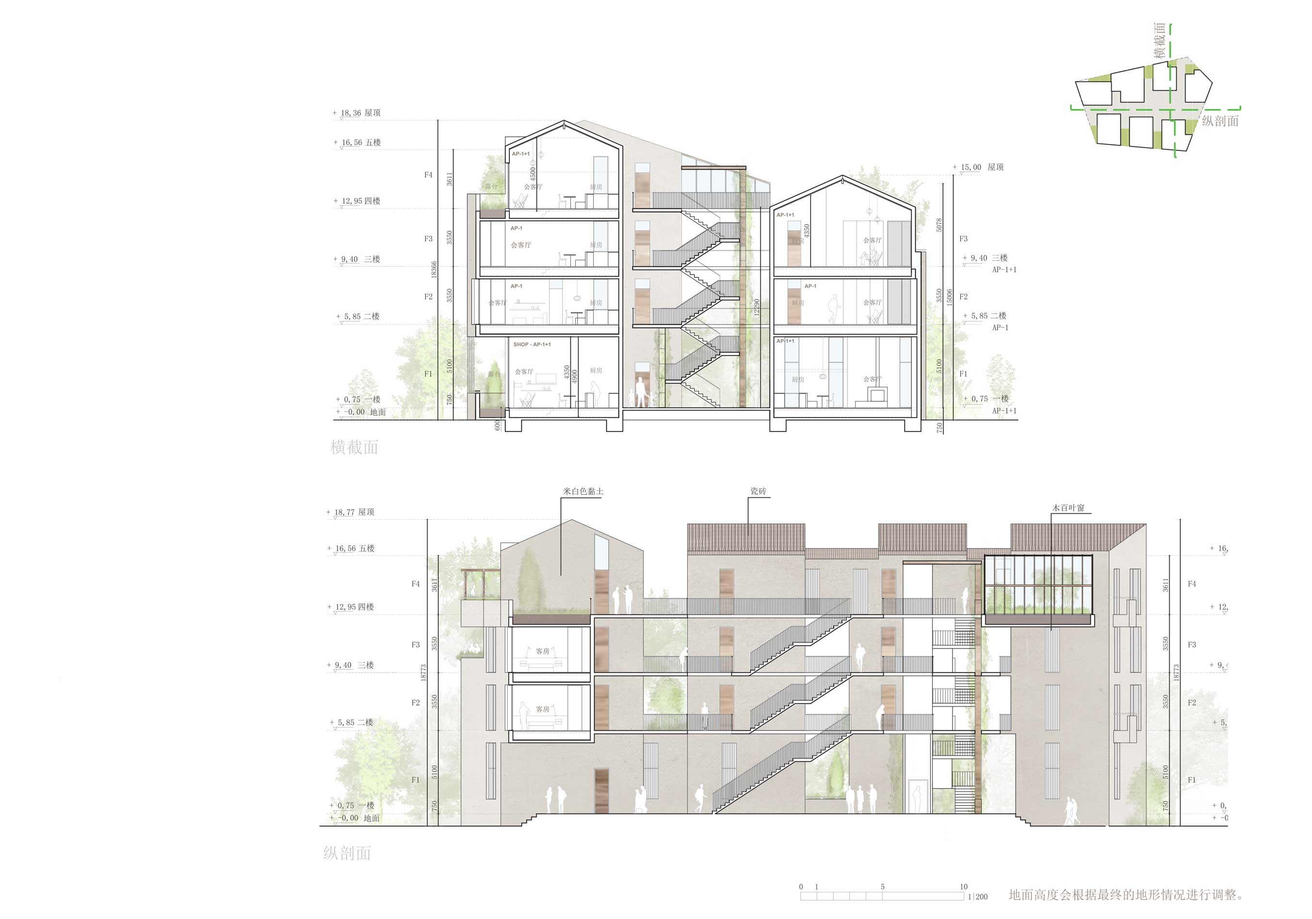 Residencial Old Town 2 en Yantai (China)