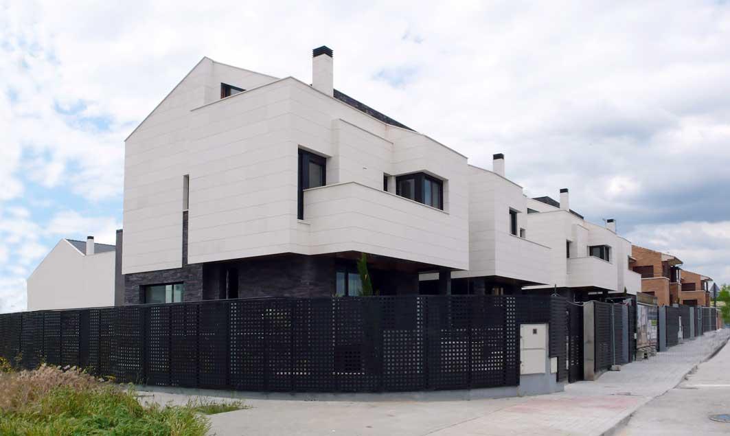 Viviendas pareadas en Villanueva de la Cañada