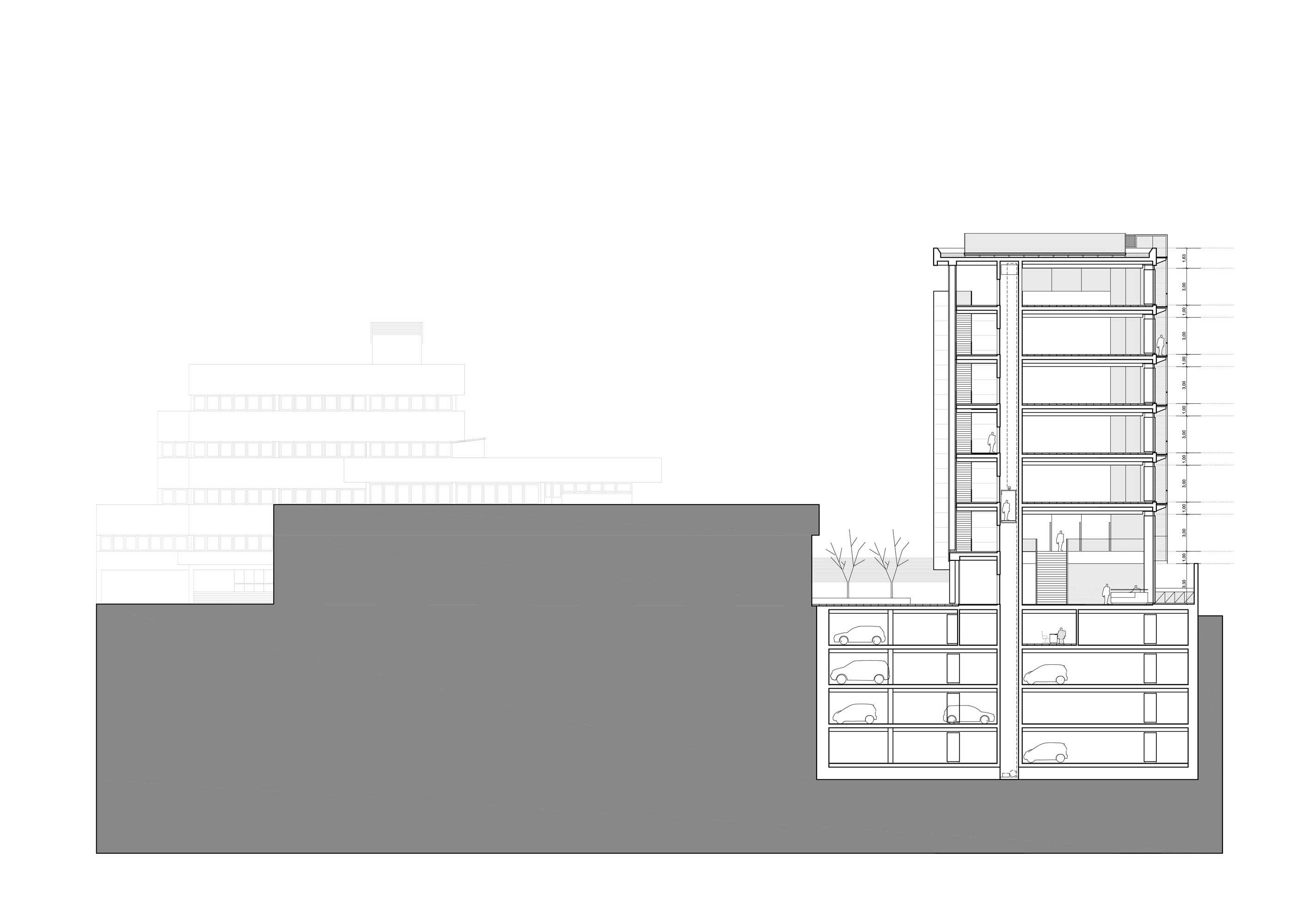Edificio de oficinas para el Ministerio de Hacienda