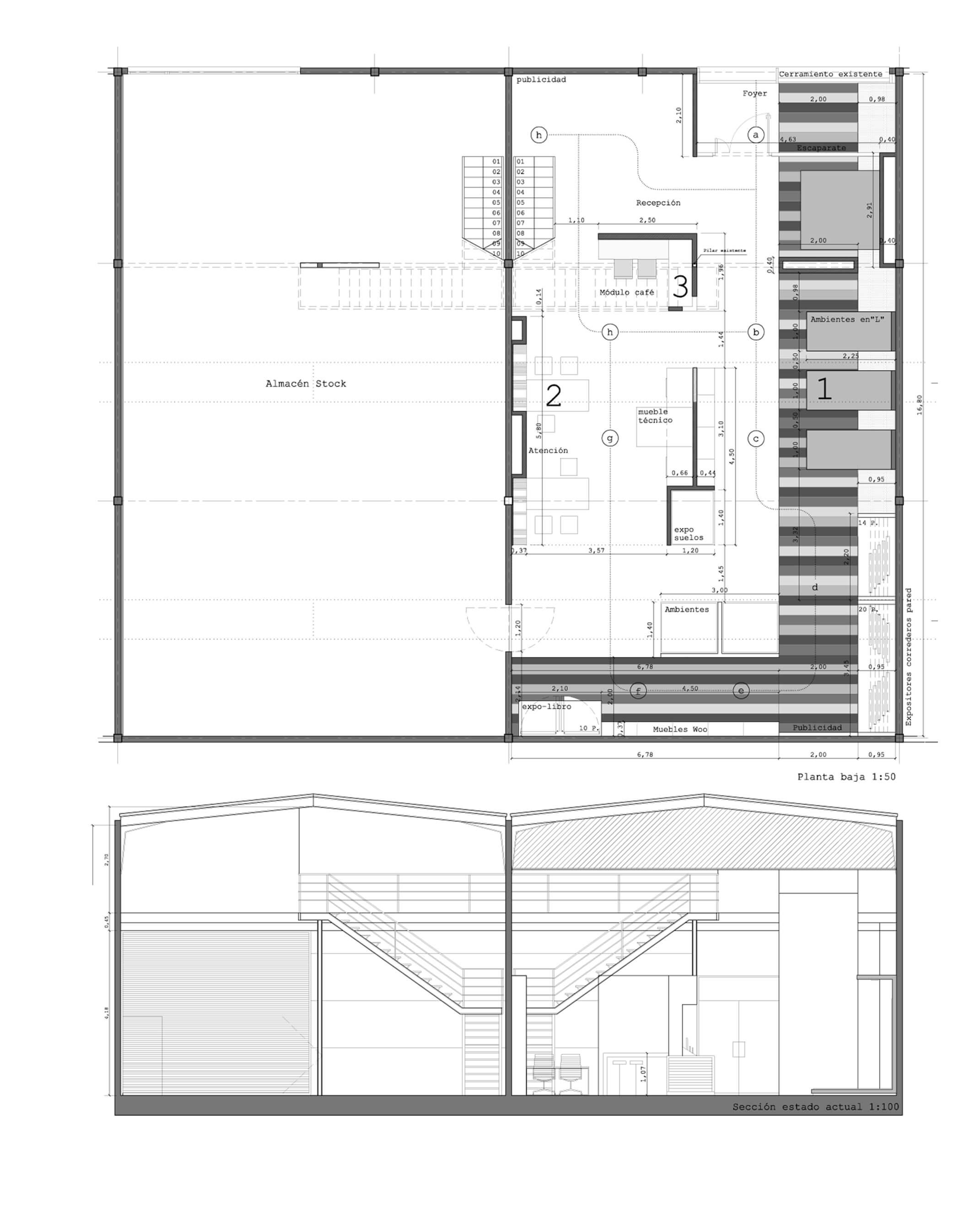Showroom materiales construcción